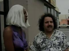 Babe from Souch Central LA fucked by the great Ron Jeremy tube porn video