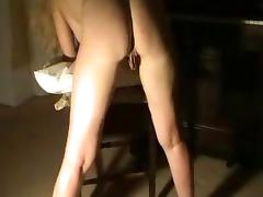 big tits, blond and  extraordinary big labia tube porn video