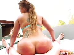 Big Wet Butts: Pool Anal: Euro Style. Klara Gold, Jordan Ash tube porn video