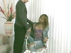 Black Transsexual Poking tube porn video