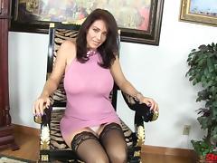 Fetish MILF Charlee Chase POV Handjob tube porn video