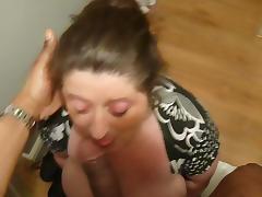 British BBW Sucking cock tube porn video