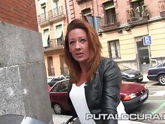 PUTA LOCURA Hot Milf rides bikes and cocks tube porn video