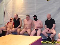 her first wild bukkake groupsex fuck orgy tube porn video