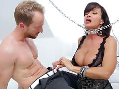 Milf released from chains and banged in her slippery pussy tube porn video
