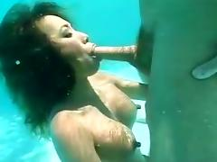Sunny day and blowjob underwater tube porn video
