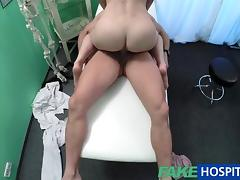FakeHospital Russian babe wants Doctors cum tube porn video
