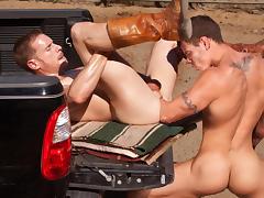 Billy Berlin & Jesse Santana in Ranch Hands, Scene #02 tube porn video