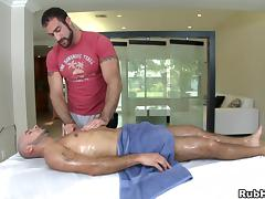Amazing gay with big butt being given superb massage tube porn video