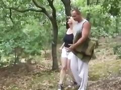Fucked In The Woods tube porn video
