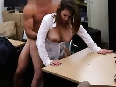 Busty business woman screwed by pawn guy for a plane ticket tube porn video