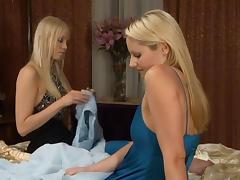 Brea Bennett & Samantha Ryan in Girls In White #05, Scene #01 tube porn video