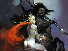 Erotic Fantasy Art 3 Frank Frazetta tube porn video