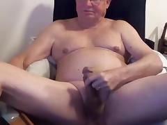 sexy grandpa play on cam (no cum) tube porn video