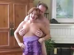 Amateur Milf big cock blowjob red lipstick pov tube porn video