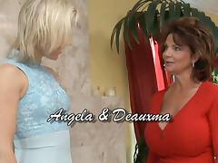 Deauxma & Angela Stone in Lesbian Seductions #17, Scene #04 tube porn video