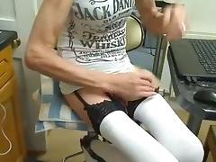 crossdresser with a big cock 9 inches tube porn video