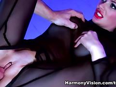 Claudia Rossi & Ree Petra in Their Bad Sex Slave - HarmonyVision tube porn video