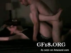 Wet snatch dildo fucked tube porn video