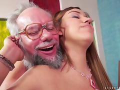 Karla finally lets her experienced neighbor to penetrate her depths tube porn video