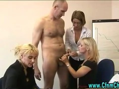 Fetish cock sucking sluts get down on their knees for some action tube porn video