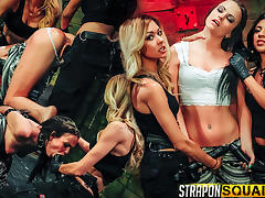 Brooklyn Daniels is Up for Slave Training with Mila Blaze & Lexy Villa - StrapOnSquad tube porn video