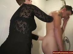 Ugly Dutch Granny Fucks Office Boy tube porn video