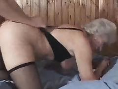 Granny Loves Cum And Doggy Style Fucking tube porn video