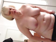 wifes 40 inch tits and belly tube porn video