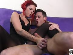 Ariel Kay Roommate Control with Lance Hart PANTYHOSE EDGING tube porn video