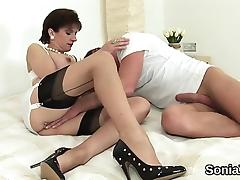 Adulterous british milf lady sonia reveals her enormous brea tube porn video
