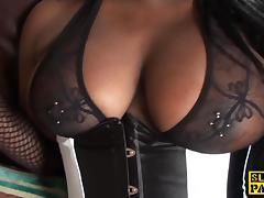 Black busty brit assfucked and dominated tube porn video