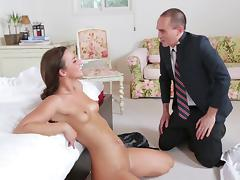 Her bf knows a guy who can fuck her well tube porn video