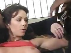 Mature bbc bareback gangbang - dble vag creampie tube porn video