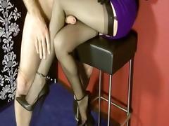 Stockings Legjob tube porn video