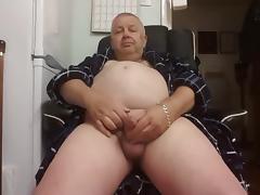 Grandpa stroke and cum tube porn video