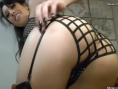Mistress Tangent strict fart domination in lingerie tube porn video