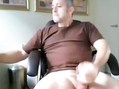 Hot fag is jerking off at home and memorializing himself on web cam tube porn video