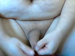 Foreskin play bit ball stretching jerking off with moans tube porn video