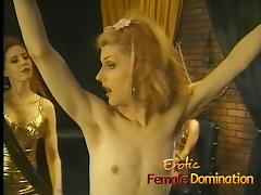 Crossdresser enjoys a very painful flogging session in the d tube porn video