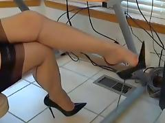 Love the stockings tube porn video