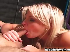 Blonde with a Mean Streak tube porn video