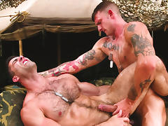Ricky Sinz & Roman Ragazzi in Grunts The New Recruits, Scene #01 tube porn video