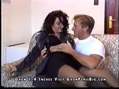 Redhead MILF on The Sofa tube porn video
