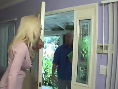 Sweden milf in fishnet with big tits fucks guy (TOP MILF) tube porn video