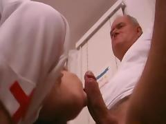 Filthy Old Fart Fuck Nurse tube porn video