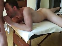 Slut fucked by two horny married daddies (with sweet kiss) tube porn video