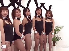 Japanese Bunny Orgy (Uncensored JAV) tube porn video