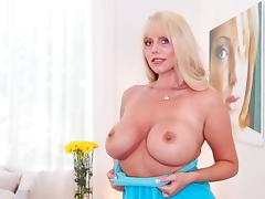 Karen Fisher in Curvy Cougar Swallows Some Pride - BigGulpGirls tube porn video