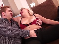 Mature blonde from the Holland is totally happy to get banged hard tube porn video